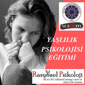 YAŞLILIK PSİKOLOJİSİ EĞİTİMİ (ONLİNE) Image